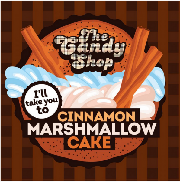 Big Mouth  - Cinnamon Marshmallow Cake (dort Marshmallow se skořicí )