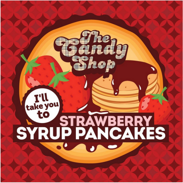 Big Mouth  - Strawberry Syrup Pancakes (Lívance s jahodovým sirupem)